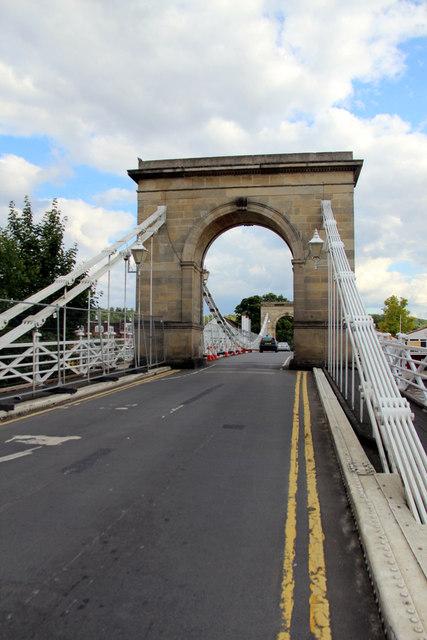 Suspension Bridge, Marlow, Buckinghamshire
