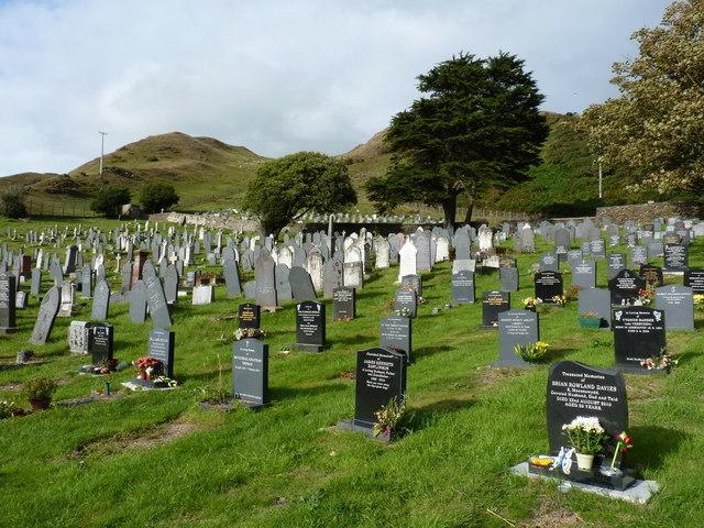 Roadside cemetery near Aberdovey