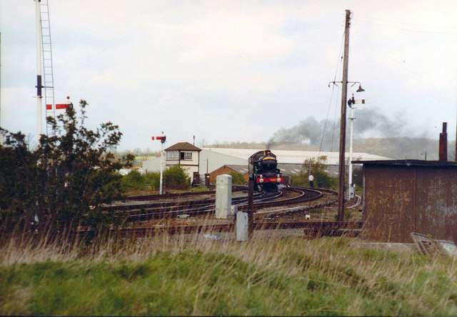 Stratford upon Avon Signal Box, 1990