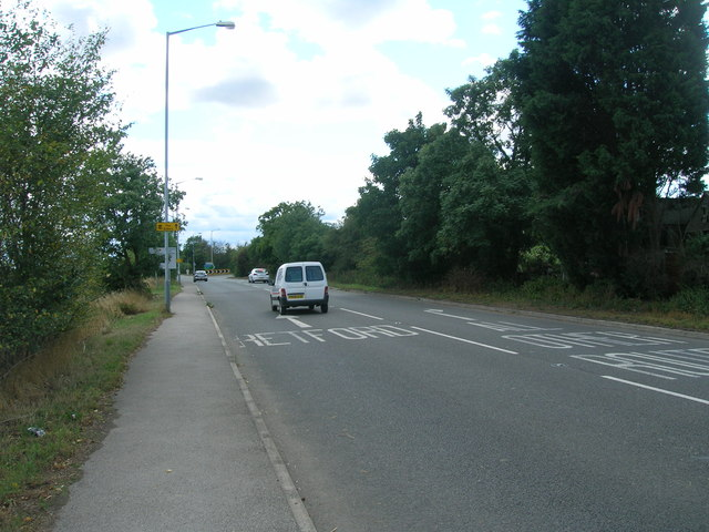 A638 towards Ranskill