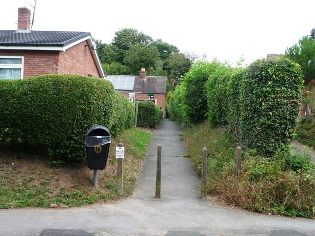 Path to Steventon New Road