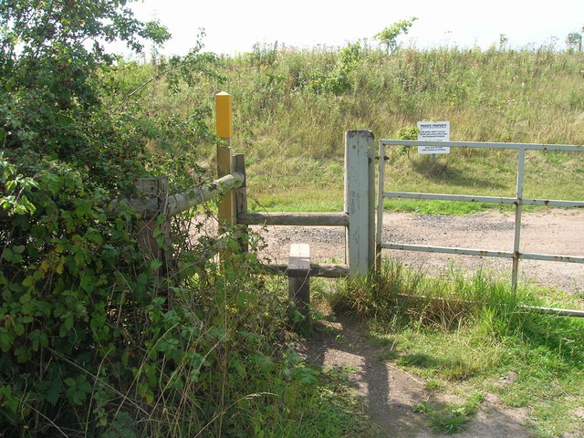 Footpath off Styrrup Road
