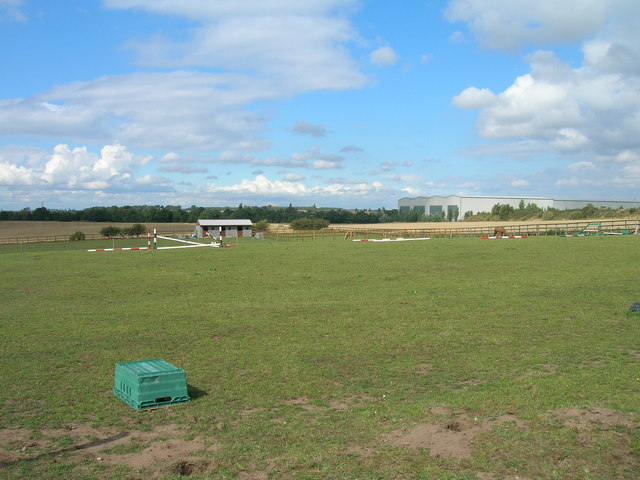 Grazing land near the A1 (M)