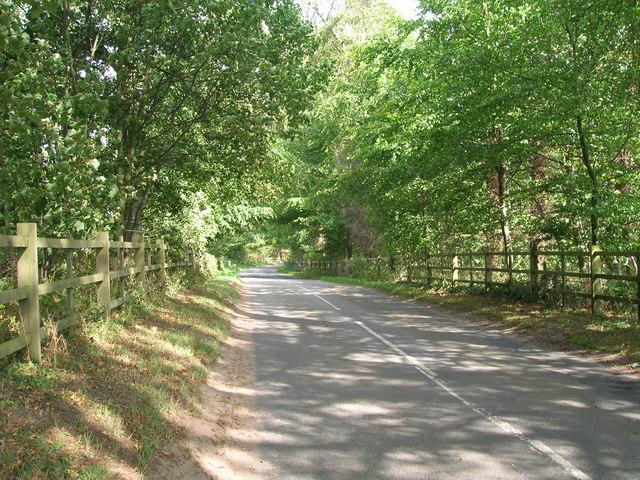 Minor road towards Ranskill