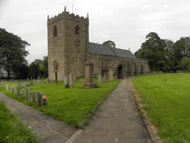 The Parish Church of St Mary the Virgin, Gisburn