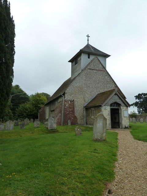 Dummer - All Saints Church: north-west aspect
