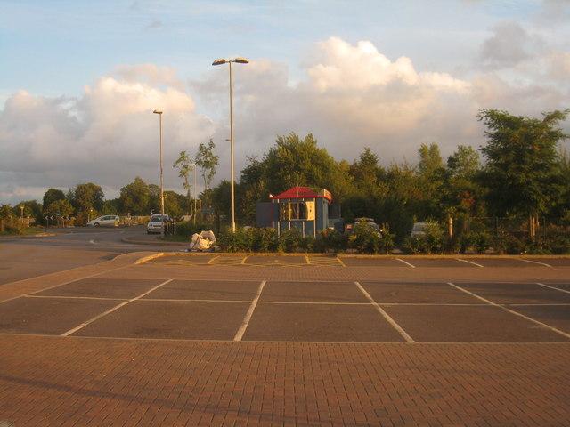 Wickes car park