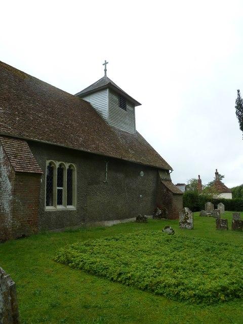 Dummer - All Saints Church: north-east aspect