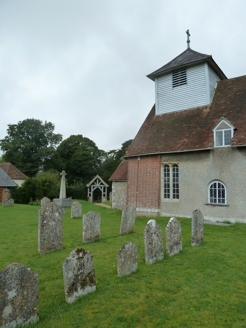 Dummer - All Saints Church:  churchyard (iii)