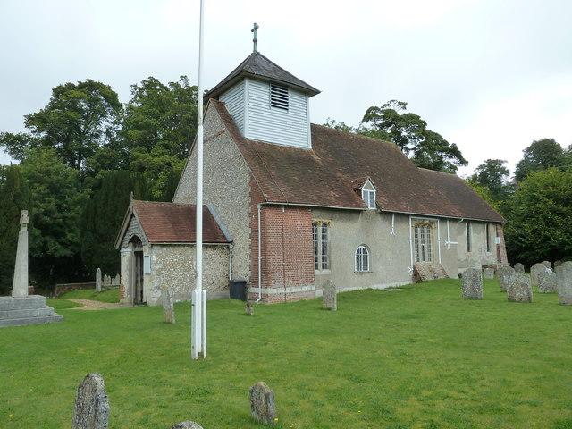 Dummer - All Saints Church: south-west aspect