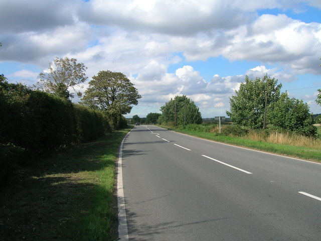 A638 towards Bawtry