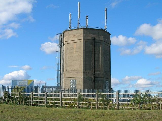 Tower near Blyth Services