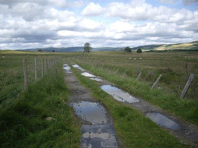Track to Balblythe