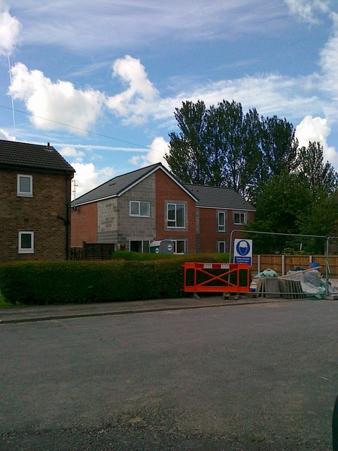 2 new houses, The Close, Kirkham