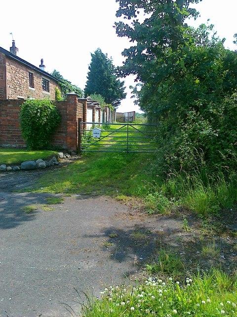 Access off Mains Lane, Poulton-le-Fylde