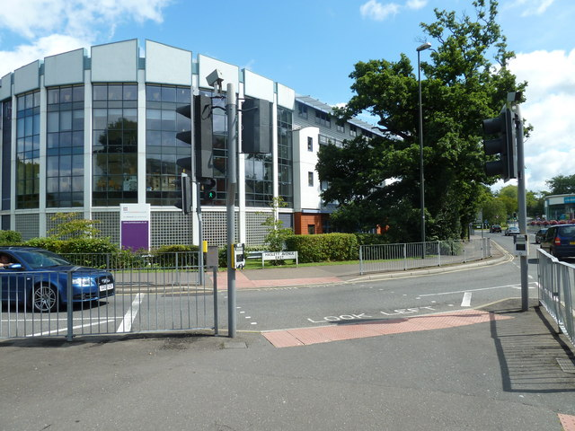 Junction of College Road and Haslett Road East