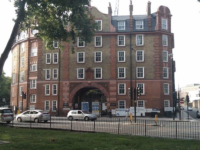 Goldington Buildings, Pancras Road NW1