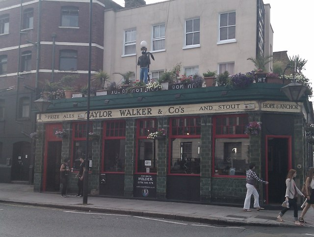 Hope and Anchor, Crowndale Road NW1