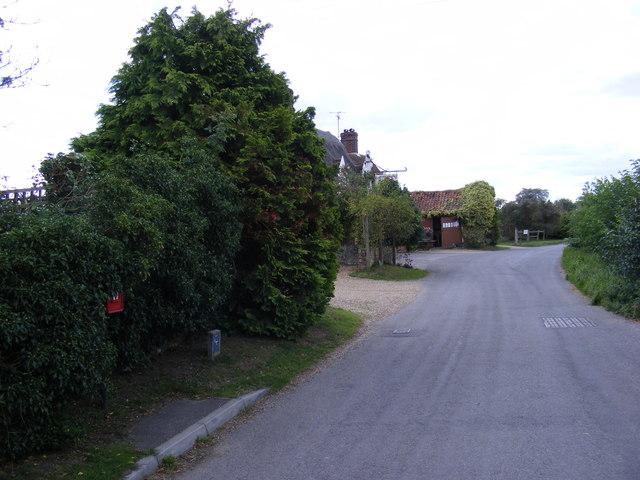 The Street, Framsden & The Street Postbox