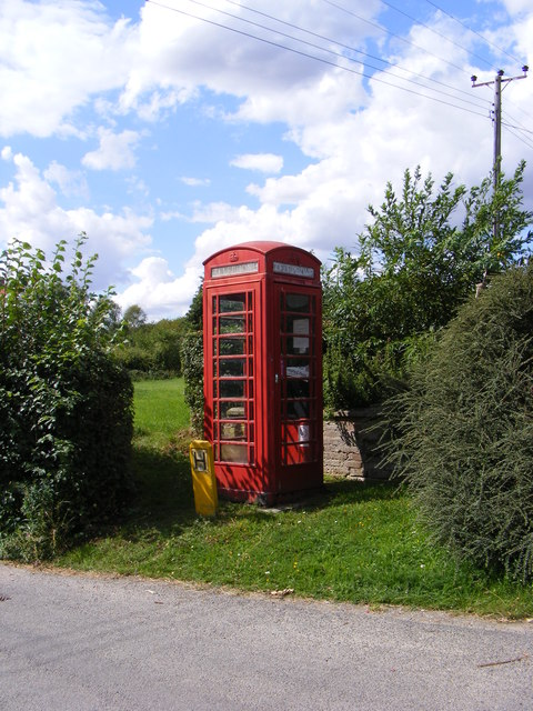 Telephone Box in The Street, Framsden