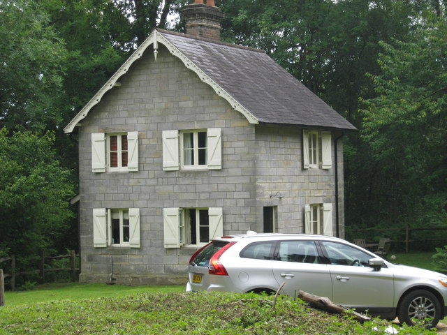 Woodmans Cottage in Nymans Woods