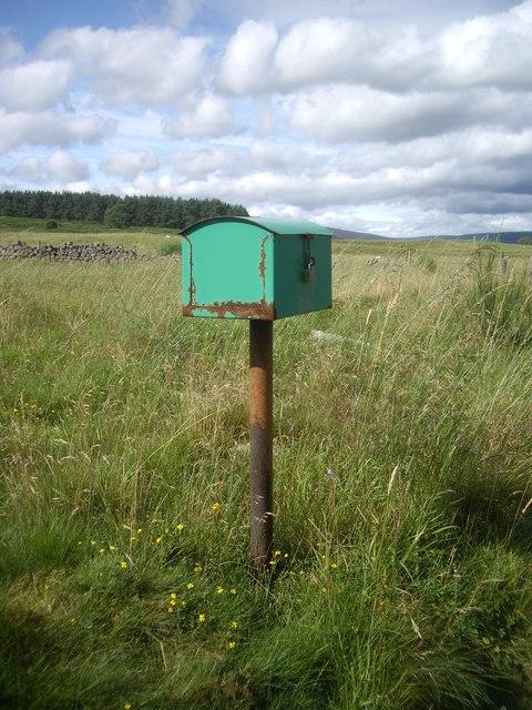 A secure rural mail box