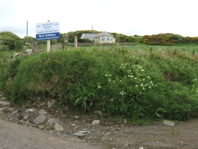 A cottage by the turning to Kilfillan