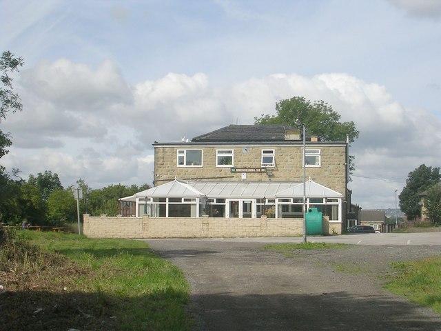 Birkenshaw Liberal Club - viewed from Croft Street