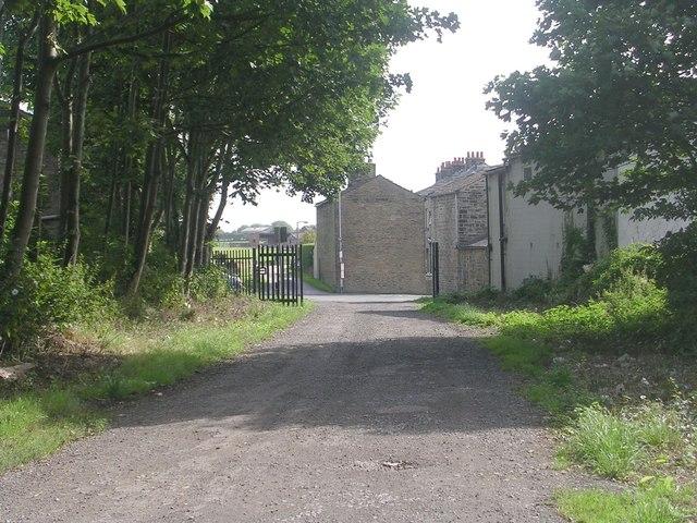 Croft Street - looking towards Old Lane
