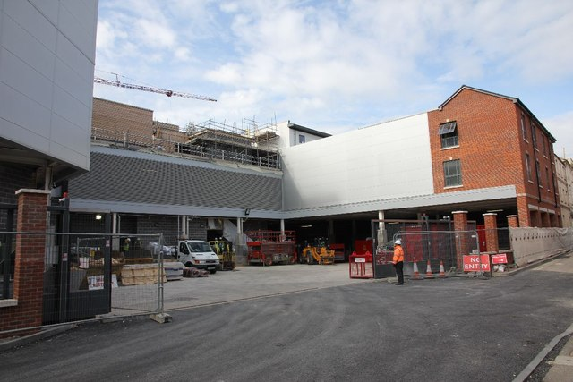 View of the loading bay
