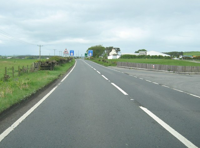 Passing the entrance to Whitecrook