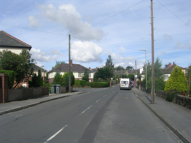 Old Lane - viewed from Woodlands Fold