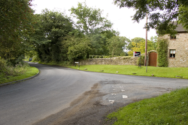 Junction of Bleasdale Road and Snape Rake Lane