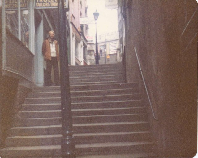 Looking up Christmas Steps
