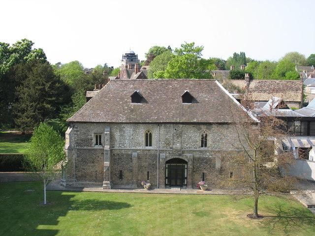 The School of Pythagoras, St John's College