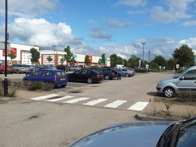 Parking at the Retail Park