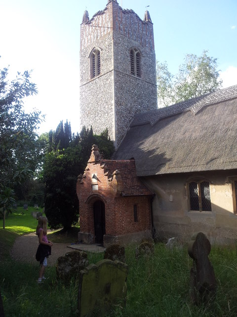 The church of All Saints, Ringsfield