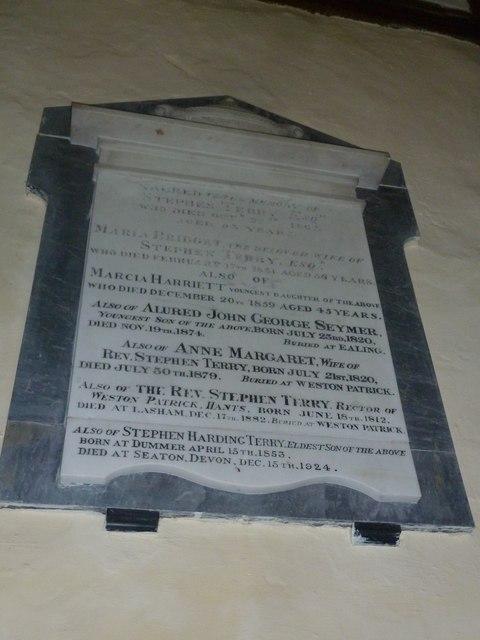 Dummer - All Saints Church: memorial (c)