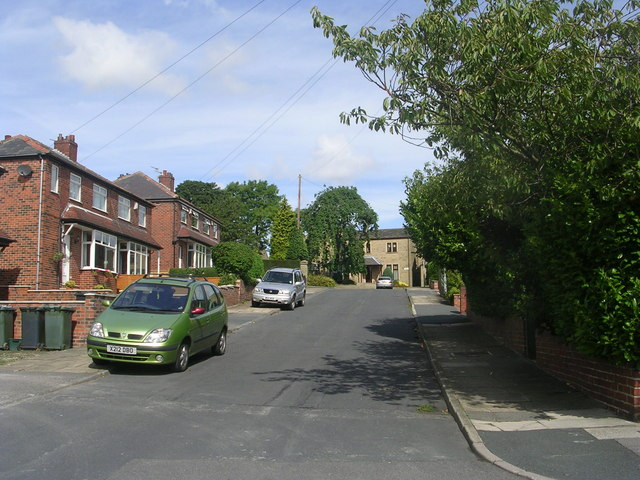 Whitehall Grove - viewed from Royds Avenue