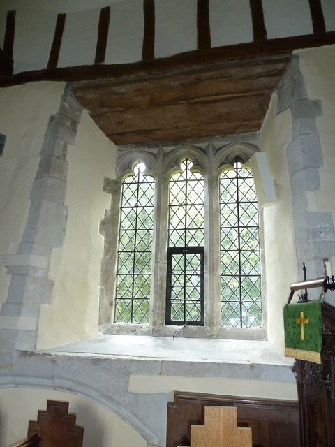Dummer - All Saints Church:  church window