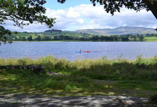 Bala Lake - Llyn Tegid from Llangower
