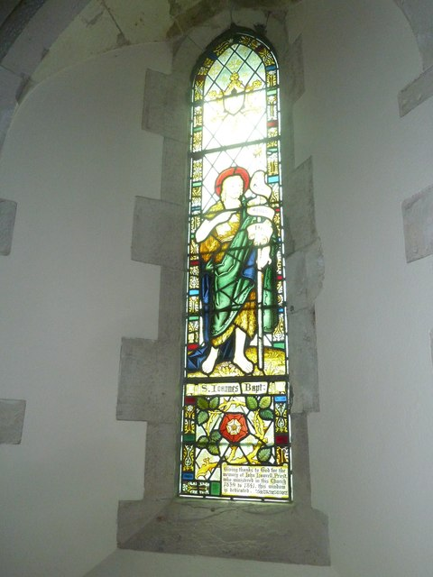 Dummer - All Saints Church: stained glass  window (iv)