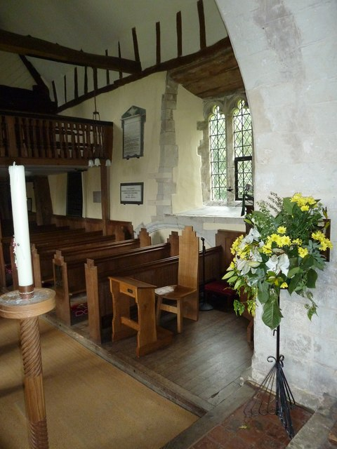 Dummer - All Saints Church: looking from the chancel into the nave