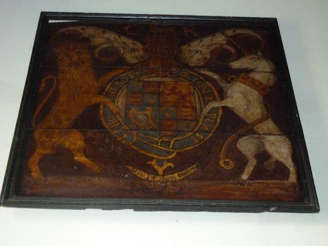 Dummer - All Saints Church:  coat of arms