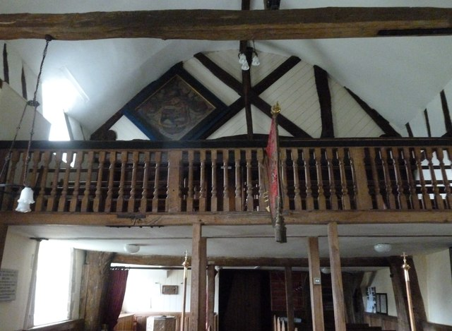 Dummer - All Saints Church:  balcony