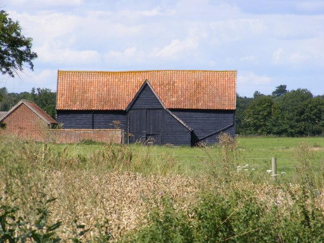Barn near Valley Farm