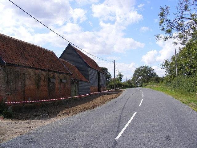 B1079 near to Elm Farm