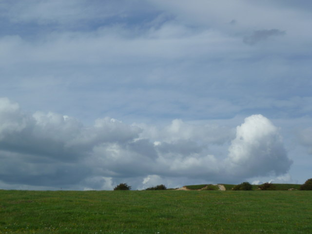 Clouds seen from the South Downs near Devil's Dyke