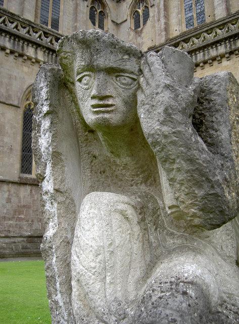 Plaintive sculpture