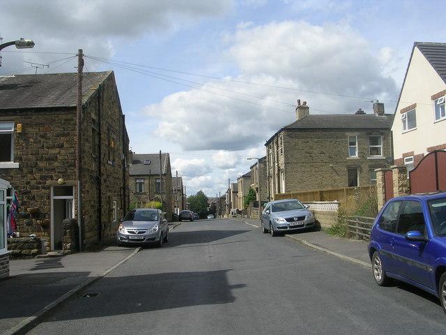 Allen Croft - looking towards Bradford Road